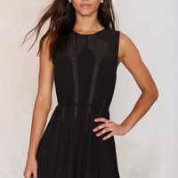 Nasty Gal Nina Pleated Dress