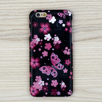 iPhone 6 case Floral iPhone 7 case butterfly Samsung Galaxy S7 case galaxy S6 edge case Note 5 case İphone 6 Plus case LG G4 case floral