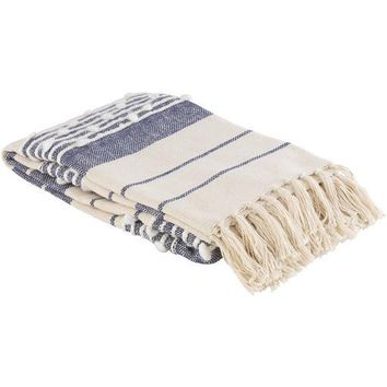 Yemaya Throw ~ Navy