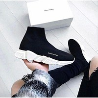 Balenciaga Woman Men Boots Fashion Breathable Sneakers Running Shoes-14