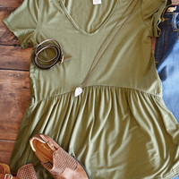 All Ruffled Up Blouse