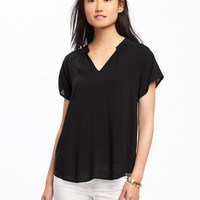 Lightweight Cocoon Top for Women | Old Navy
