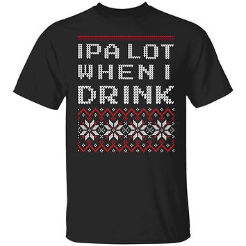 IPA Beer Lover Ugly Christmas T-shirts and Hoodie