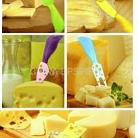 Modern Stylish 5 Speciality Cheese Knife set Colorfull Ideal gift