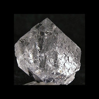 Ice Clear Fluorite Crystal Natural Octahedron Mineral Specimen