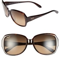 Women's Maui Jim 'Kalena' 57mm Polarized Sunglasses