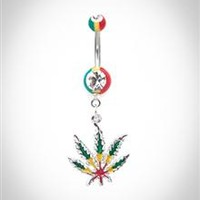 Single Belly Button Rings - Spencer's
