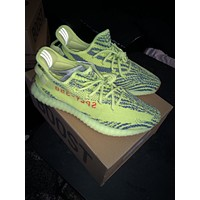 Yeezy Boost 350 V2 Semi Frozen Yellow 100% Authentic Size 11 B37572 Yzy Adidas