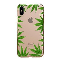 Weed Frame - iPhone Clear Case