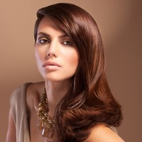 Modern retro curls hairstyle - hairstyles 2014 - Woman And Home