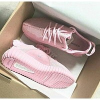 Tagre™ Adidas Women Yeezy Boost Sneakers Running Sports Shoes Pink