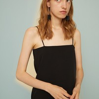 A-line Minimalistic Essential Slip Dress