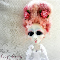 Loopy Romantic Victorian Goth Art Doll Madam Antoinette Marie RESEVED for A