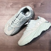 HCXX A1185 Adidas YEEZY 700 BOOST V2 static Suede 3m Running Shoes Mint Green