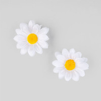 Full Tilt 2 Piece Daisy Hair Clips White One Size For Women 24029115001