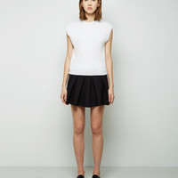 Asymmetric Pleated Skirt by Alexander Wang