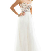 2014 New Elegant Long Cocktail Evening Formal Party Wedding Prom Dress Ball Gown