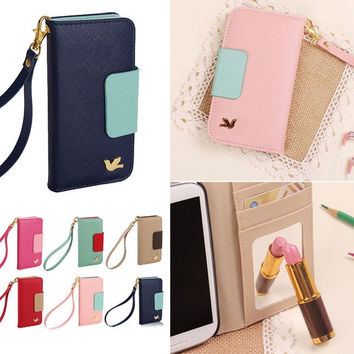 Magnetic Leather Flip Hard Full Case Cover Pouch Skin For Apple iPhone 4 4S 5 5S = 1697631428