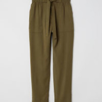 H&M Paper-bag Pants $34.99