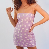 Lavender Daisy Dress