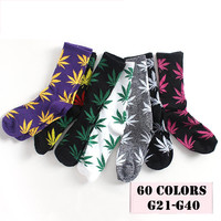 Weed Plant Style HIP HOP Harajuku chaussette Calcetines Men Hombre Socks Women's Winter Long Cotton Socks Life