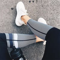 Print Sports Outdoors Hot Sale Leggings [9328136708]
