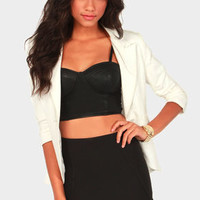 High Waisted Black Mini Skirt | Shop Notice Magazine