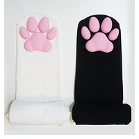 Pawpads Socks Fashion Stockings Casual Cotton Thigh High Over Knee Sexy Socks Girls Womens Female Cute Soft Cat Paw Cosplay