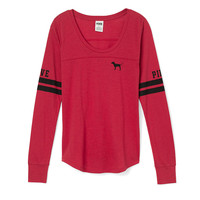 NEW! Long Sleeve Football Tee