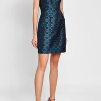 Jacquard Dress with Faux Pearl Embellishment - Mary Katrantzou | WOMEN | US STYLEBOP.COM