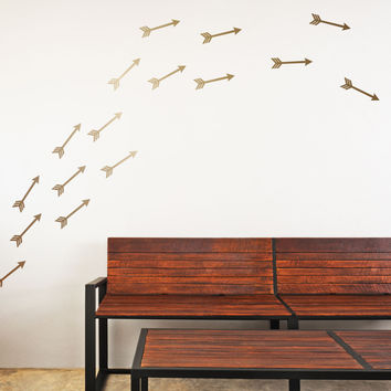 Flying Arrows Mini-Pack Wall Decals