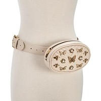 Steve Madden Pearl and Studded Belt Bag (With Defects)