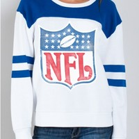 Junk Food Clothing - NFL Shield Sweatshirt - NFL - Collections - Womens