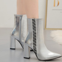 Hot style is a hot seller with monogrammed ankle boots