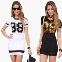 Cheerleader T-shirt Dress