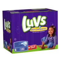Luvs With Ultra Leakguards Size 4 Diapers 180 Count | deviazon.com