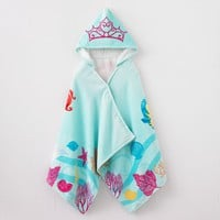 Disney Little Mermaid Shimmer & Gleam Hooded Towel