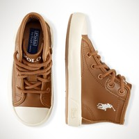 Ferguson Leather High-Top - Toddler 4-10   Shoes  - RalphLauren.com