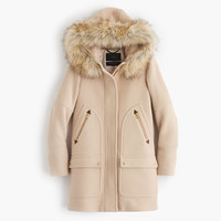 Tall chateau parka in stadium-cloth : Women blazers & outerwear | J.Crew