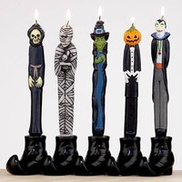Halloween Taper Candles, Set of 5 | Candles & Home Fragrance| Home Decor | World Market