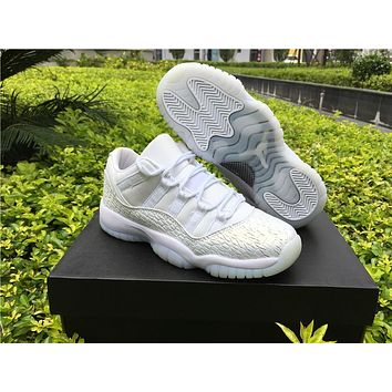 Air Jordan 11 Low Gs Prm Hc Frost White Aj11 Women Basketball Shoes