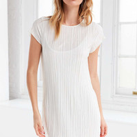 Honey Punch Accordion Pleat Tee Dress - Urban Outfitters