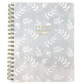 2022 Foliage Large 18-Month Spiral Planner