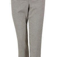 Charter Club Women's Slim Houndstooth Ankle Dress Pants