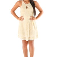 Shade Of You Dress: Butter