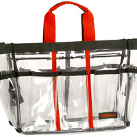 TM-3-3  Make-Up Tool Bag (Small in clear plastic)