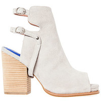 The Spruce Bootie in Bone Suede