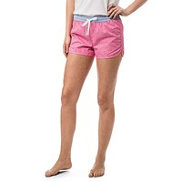 Women's Skipjack Lounge Short in Smoothie Pink by Southern Tide