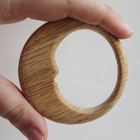 OAK-teether, natural, eco-friendly - Natural Wooden Toy - Oak Teether - Handmade wooden teether