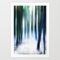 Magical Forests Art Print by happymelvin